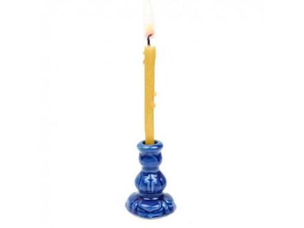 Подсвечник церковный №1 синий