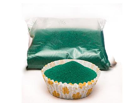 Песок №4 зеленый, 100 г