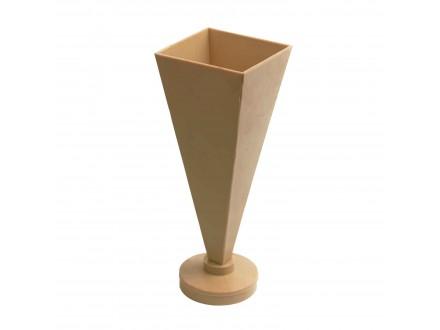 Пирамида №2 форма для свечей