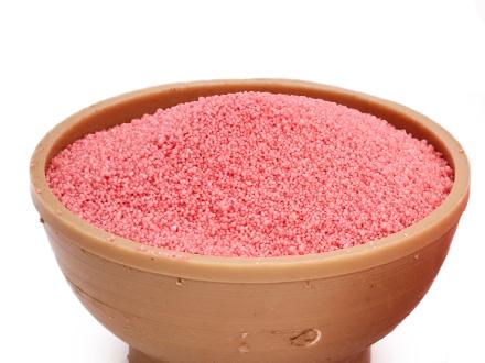 Насыпной воск розовый