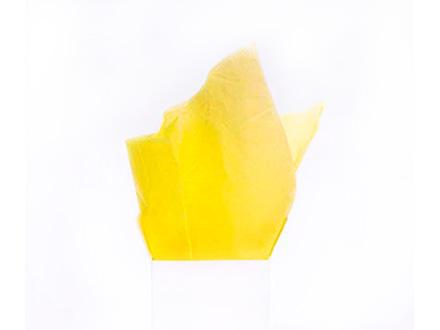 Тишью №1, желтый