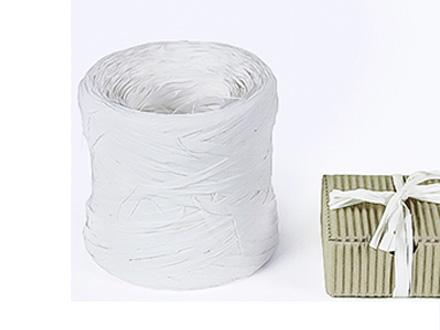 Веревка рафия белая